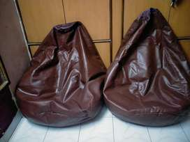 bean bags two , and also wooden sofa any interested people chat withme