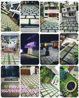 Landscaping and Natural stone paving