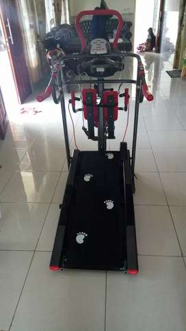 Treadmill manual 7f red colour special harga