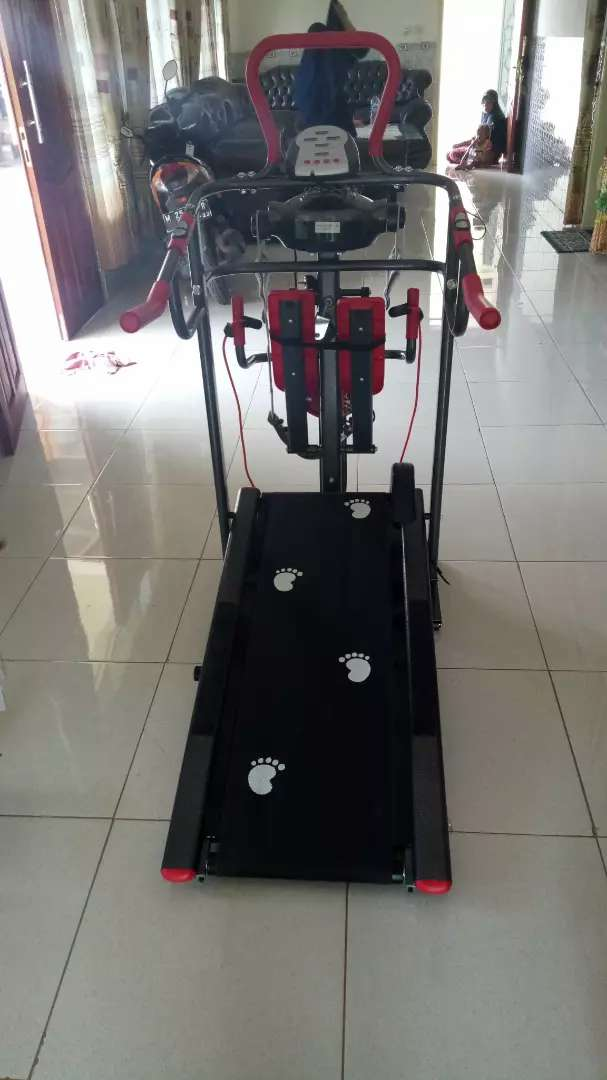 Treadmill manual 7f red colour special harga 0