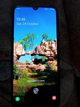 Samsung a50 with superb condition 4+64gb