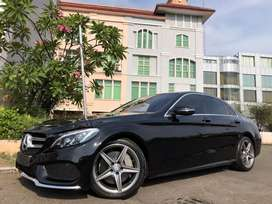 C250 AMG 2017 Black Km19rb Antik Panoramic Sunroof ISP-2020 TDP Ringan