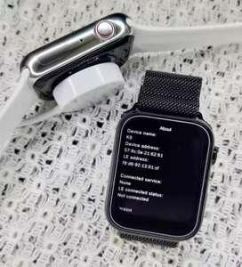Smart watch Series 6 Full infinity Curved Display AVBL warranty & Bill
