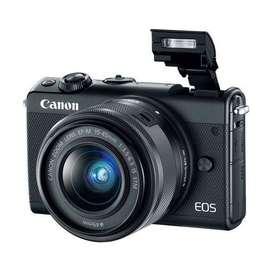 Kredit Kamera Canon EOS M100 Mirrorless Digital Camera with 15-45mm Le