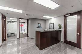 Blue area small office & large SPACE  for rent