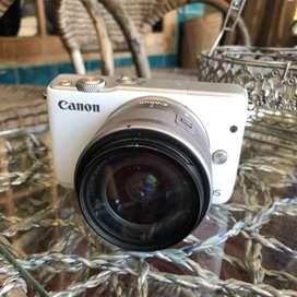 Kamera canon eos m10 whita