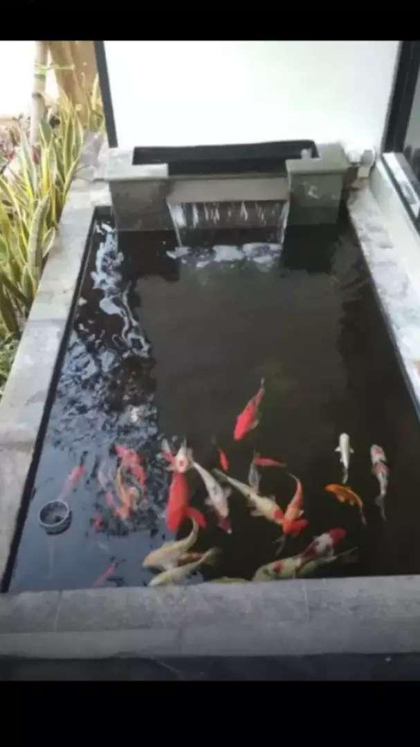 pembuatan kolam koi modern minimalis dll 0