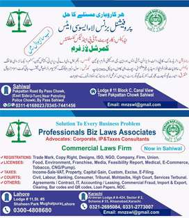 Legal Services Commercial Law Firm