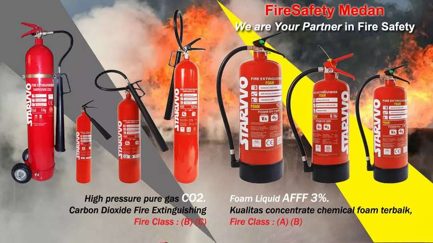 Fire Extinguisher (APAR) STARVVO
