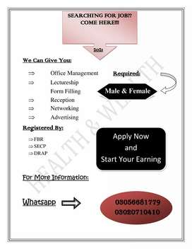 Job for Students and other