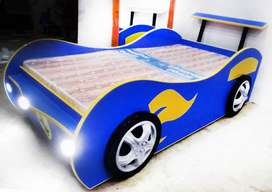 Boys Single Car Bed | Race Cars Bed | kids car Bed | Baby Furniture
