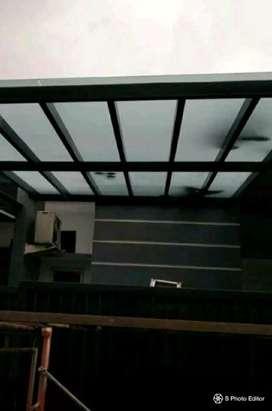 canopi kaca murah awet kuat tahan lama proses cpt rapih dll