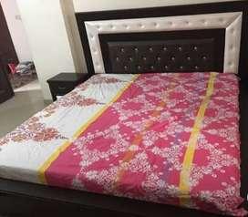 Double bed, sofa set, washing machine
