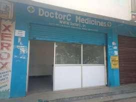 Shop For Rent Near Shaikpet Nala
