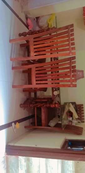 Dinning set with 6 Chair's