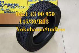 Tyres 145/80/13 Yokohama Studless just like Brand New Condition