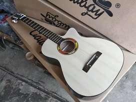 Gitar akustik new akustik natural