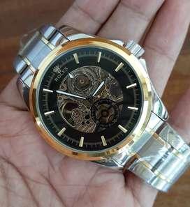 Jam Tangan Rolex Automatic TANPA BATERAI Rantai Silver Gold - Otomatis
