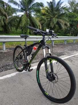 Full Upgrade Hybrid Sepeda Mtb Polygon Premier 4 JUAL RUGI !!!