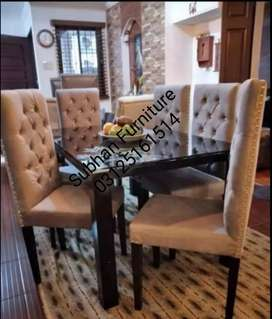 This kind of dining table is in good quality, chairs are in  kushan