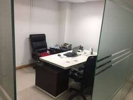 Furnished 800 sqft office space available at sector 8, chd