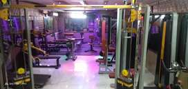 All new gym machines with heavy duty and commercial use