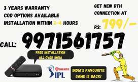Tata d2h Sky Hd Box New Connection ! Airtel Dth ! Dish Tv!Videocon D2h