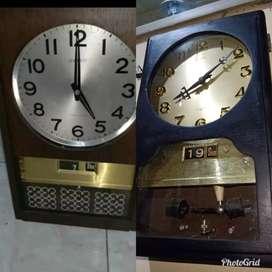 Jam dinding antik seiko jepang transistor 2 box
