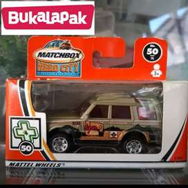 Matchbox Land Rover Discovery Edisi.2004