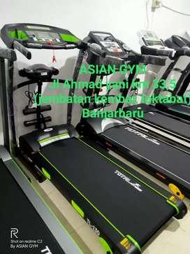 Ready lagi treadmill listrik multifungsi primadona terlaris bisa Cod