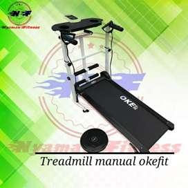 Treadmill manual okefit 4 fungsi