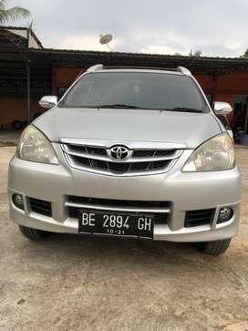 Dijual Satu Unit Mobil Toyota Avanza G 2011 BE Lamteng