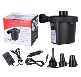 Air Pump, Works with Adoptor and Car Charger.