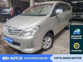 [OLXAutos] Toyota Innova 2010 G Bensin 2.0 M/T Silver #Cipta Abadi