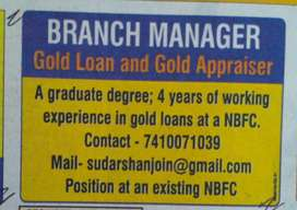 Gold loan Manager