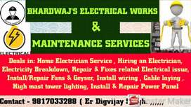 Home Electrician Service in 60 mins