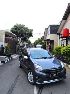 Toyota Agya 1.0 G M/T Tahun 2014 Grey Mulus