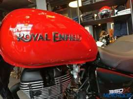 Thunderbird 350 BS4 FUAL TANK RED COLOUR