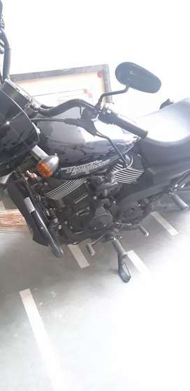 Harley Davidson street 750 ABS black in newest condition only