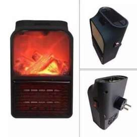 Portable flame heater