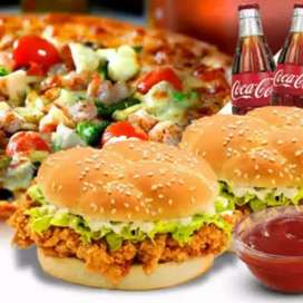 Fastfood/ Pizza cook/chef required. Attractive Salary package