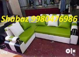 RA61 Corner sofa set with 3 yeras warranty call us