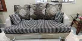 green black sofa set