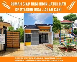 Rumah murah siap huni dekat stasiun, beba s banjir, di cilebut bogor