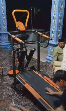 10 fungsi manual Treadmill keluarga langssporty