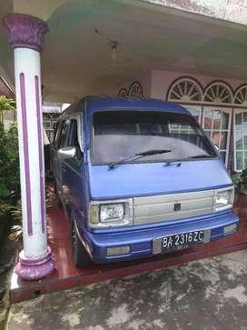 Suzuki carry st100 kabin besar pas buat usaha juga buat keluarg