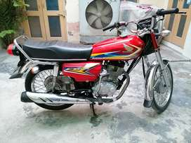 Honda cg 125 2019 Model Faisalabad Number Totally Genuine Condition.