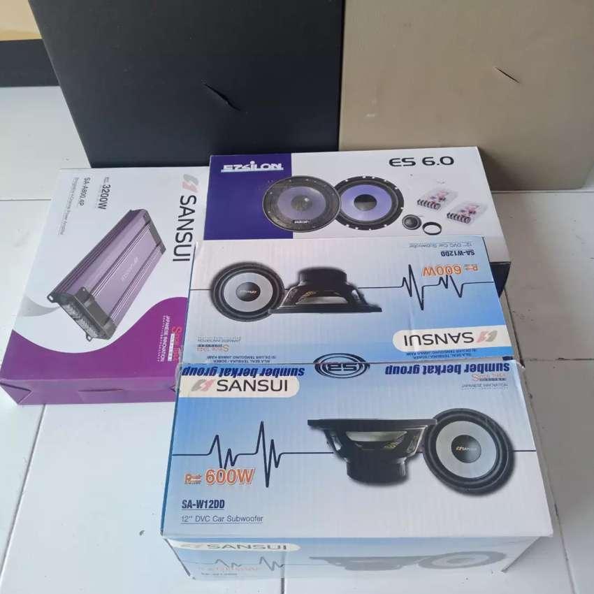 Paket audio ful sansui suara mantap 0