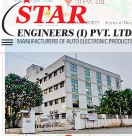 Fresher Quality ,Production engineer, Hr Admin, Account manager