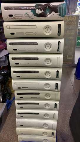 Xbox 360  Prejaser 120 GB (Games Installed)